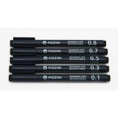 drawing pen 0.2 Pizzini
