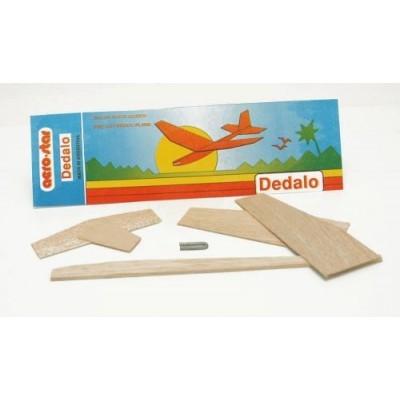 Avión Dedalo en bolsa p/armar Aerostar