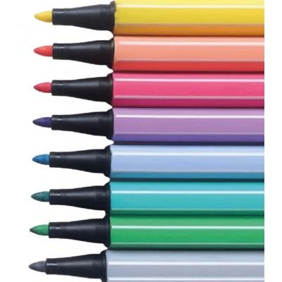 Marcador Pen 68 Stabilo de colores y metalizados  x unidad