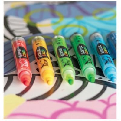 Marcador Acrylic Color trazo 4 mm Alba colores