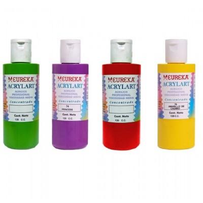 Acrílico Decorativo Acrylart x120 ml Eureka colores