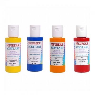 Acrílico Decorativo Acrylart x60 ml Eureka colores