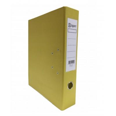 Bibliorato lomo ancho OFICIO AMARILLO de PVC