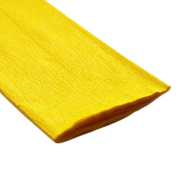 Papel crepe Amarillo