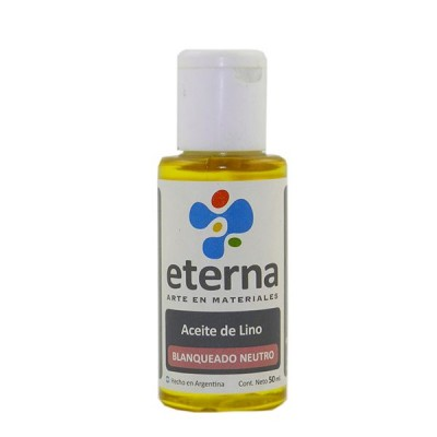 Aceite de lino estudio 50 cc Eterna