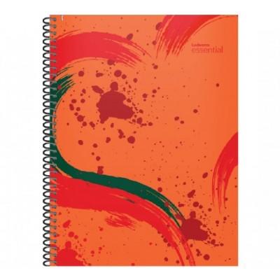 Cuaderno con espiral A4 tapa plastica Essential rojo x 84 hojas rayado Ledesma