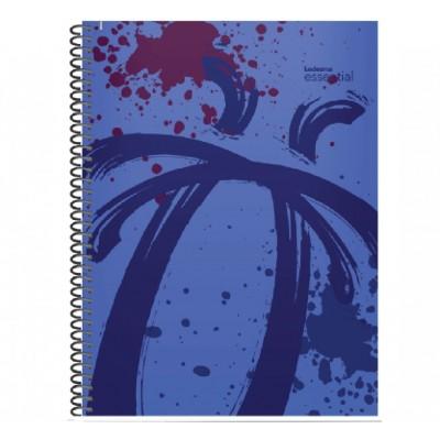 Cuaderno con espiral A4 tapa plastica Essential violeta x 84 hojas cuadriculado Ledesma