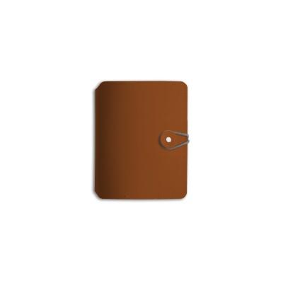 Cuaderno Madison A6 button rayado mattone Vacavaliente