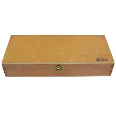 Caja portapinceles larga con division Fime