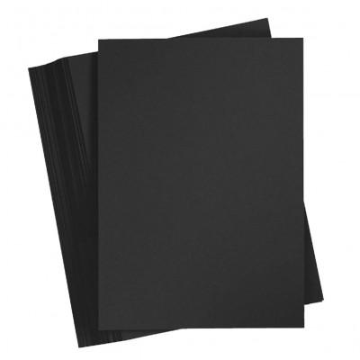 Cartulina 50x70 cm Negra de 220 gramos Erika