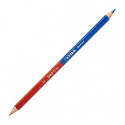 Lápiz bicolor medio Rojo-Azul Lyra