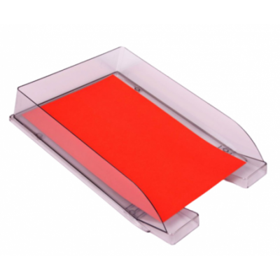 Bandeja A4 de 1 piso autoapilable cristal Liggo Trade