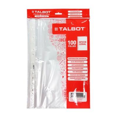 Folios oficio x100 unidades Talbot