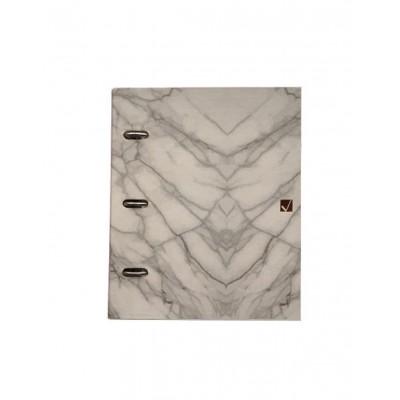 Carpeta Esquela Marble x120 hojas rayadas Cita Kit