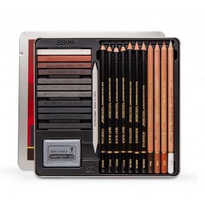 Set gioconda artístico 8899 Sketching 24 piezas Koh-i-noor