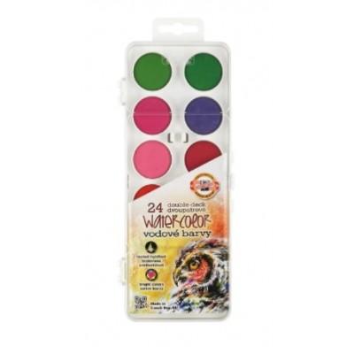 Acuarelas en estuche x 24 colores de 30mm Koh-I-Noor