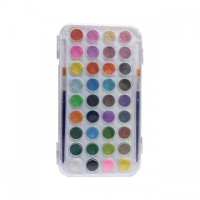 Set de acuarelas x 36 colores en pastillas de 23mm REBHAN