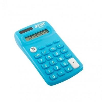 Calculadora bolsillo LAMA 8 digitos celeste Ecal
