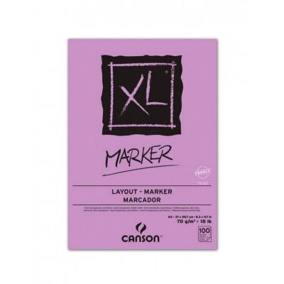 Block XL Marker A4 de 70 gramos x100 hojas Canson
