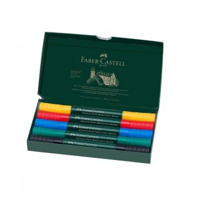 Set de Marcadores Acuarelables Albrecht Durer x5 Colores Faber-Castell