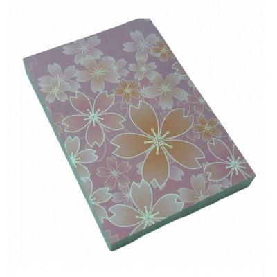 Nota Adhesiva 50x75 mm x80 hojas ESTACIONES FLOWERS Memo Fix