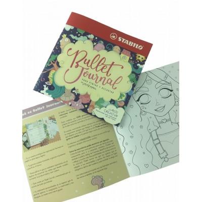 Libro de Arte Creativo Bullet Journal Stabilo
