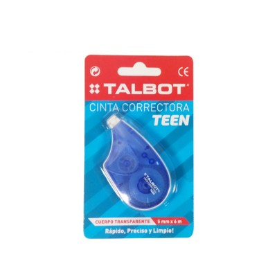 Corrector Cinta  TEEN de 5mm x6 metros Talbot
