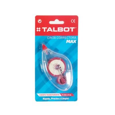 Corrector Cinta  MAX de 5mm x8 metros Talbot