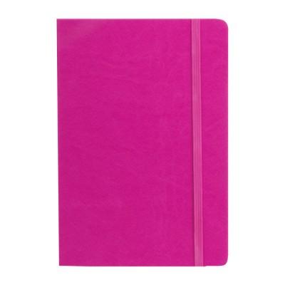 Cuaderno PU A5 Tapa Fucsia x96 hojas lisas de 80 gramos Talbot
