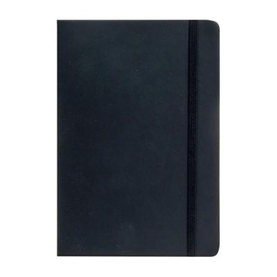 Cuaderno PU A5 Tapa Negra x96 hojas lisas de 80 gramos Talbot