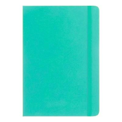 Cuaderno PU A5 Tapa Verde Aqua x96 hojas lisas de 80 gramos Talbot