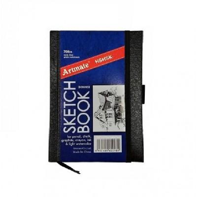 Block Boceto 12,7x20 cm de 110 gramos x80 hojas con elástico Artmate