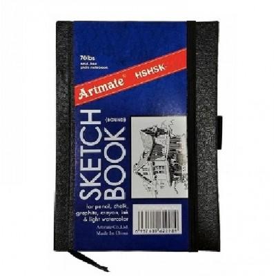 Block Boceto 21,5x27,9 cm de 110 gramos x80 hojas con elástico Artmate