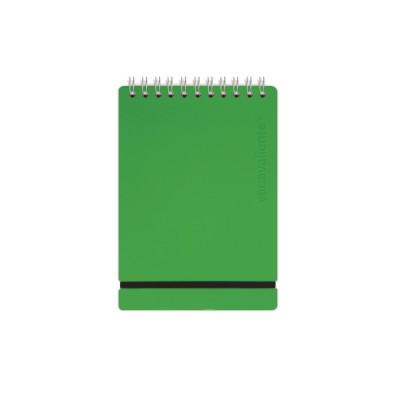 Anotador A5 Cuero reciclado 80 hojas verde Vacavaliente