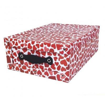 Caja de cartón montado 45x31x16 cm con manija Paperland