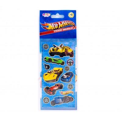Plancha Stickers Hot Wheels Maco