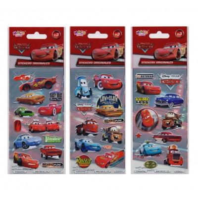 Plancha Stickers Cars Maco