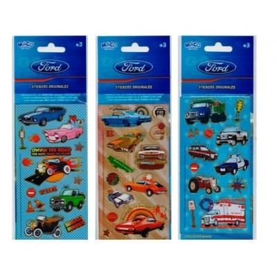 Plancha Stickers Ford Maco