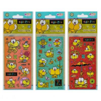 Plancha Stickers Gaturro Maco