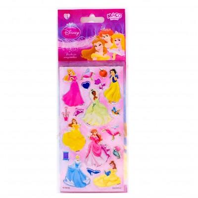 Plancha Stickers Princesas Maco