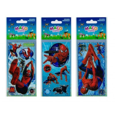Plancha Stickers Spider-Man Maco