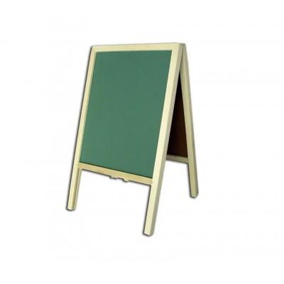 Pizarron libro 30x50 cm verde Les Cahiers