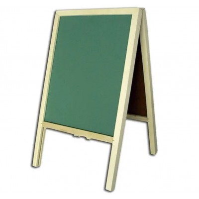 Pizarron libro 80x45 cm verde Les Cahiers
