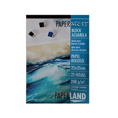 Block Acuarela 24x35 cm Paperarts de 240 Gramos x24 hojas Paperland