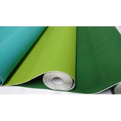 Rollo adhesivo de 45 cm afelpado Verde x 1 metro Self