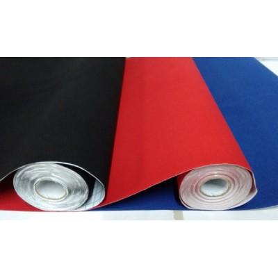 Rollo adhesivo de 45 cm afelpado Negro x 1 metro Self