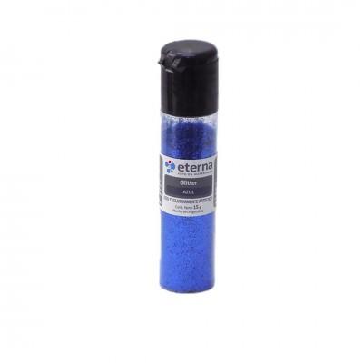 Glitter Azul tubo x15 gramos Eterna
