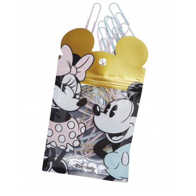 Clips 50 mm Mickey & Minnie x25 unidades Mooving