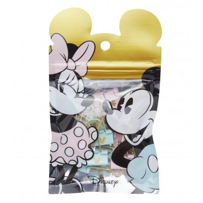 Binder Clip 19 mm Mickey & Minnie x12 unidades Mooving