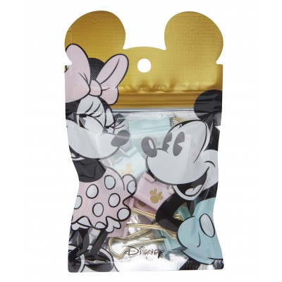 Binder Clip 25 mm Mickey & Minnie x6 unidades Mooving